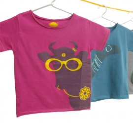 Crazy Daisy - Short Sleeves - 2T & 4T